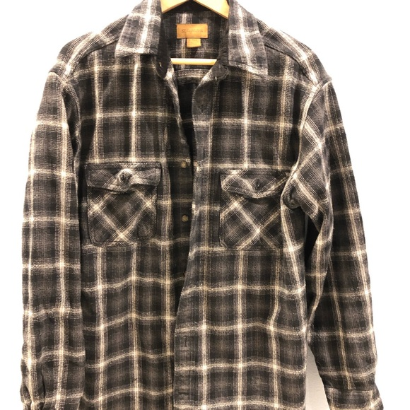 b205e461 ... plaid; st john s bay shirts mens heavyweight flannel shirt poshmark ...